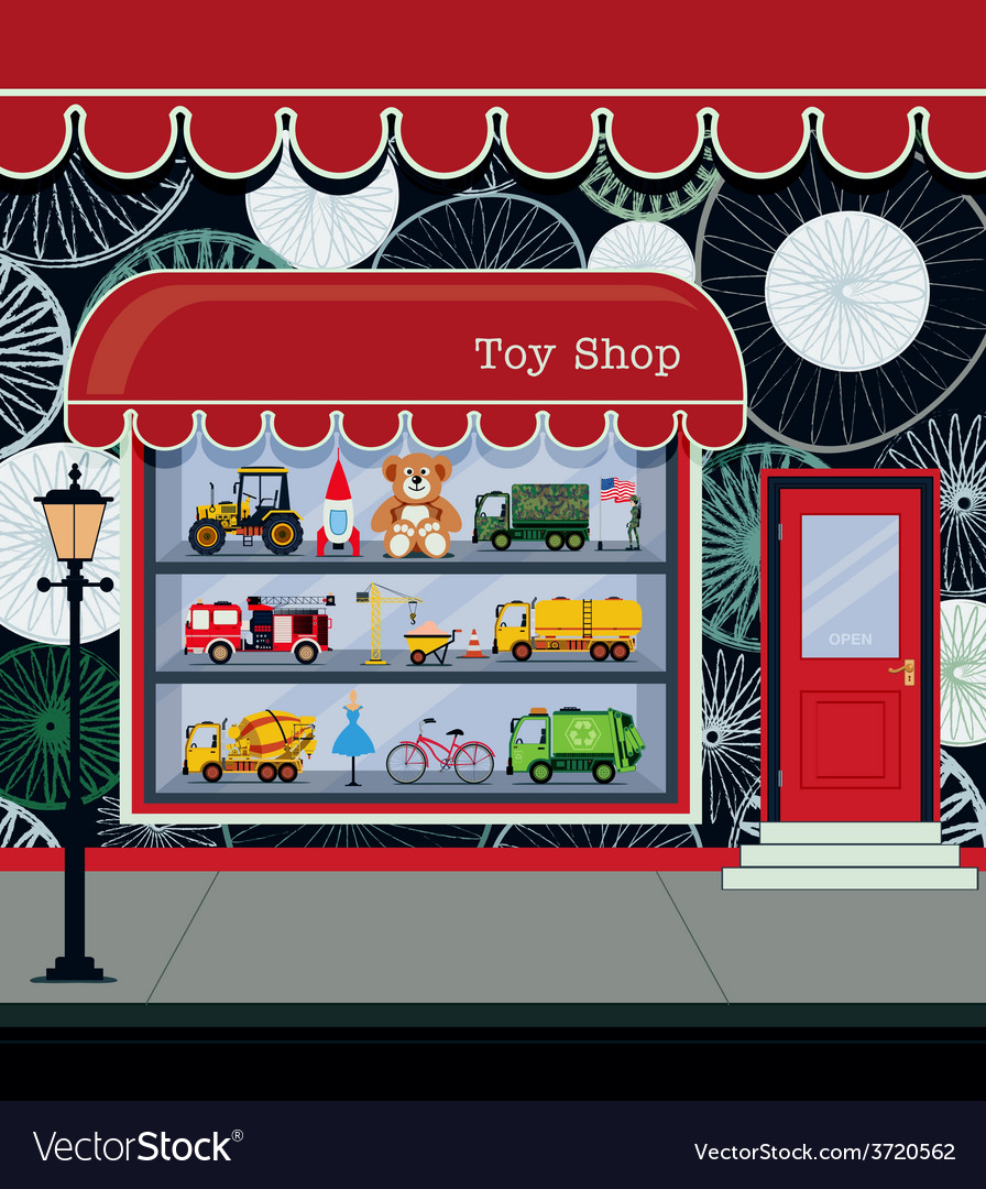 Toy shop vector | Price: 3 Credit (USD $3)