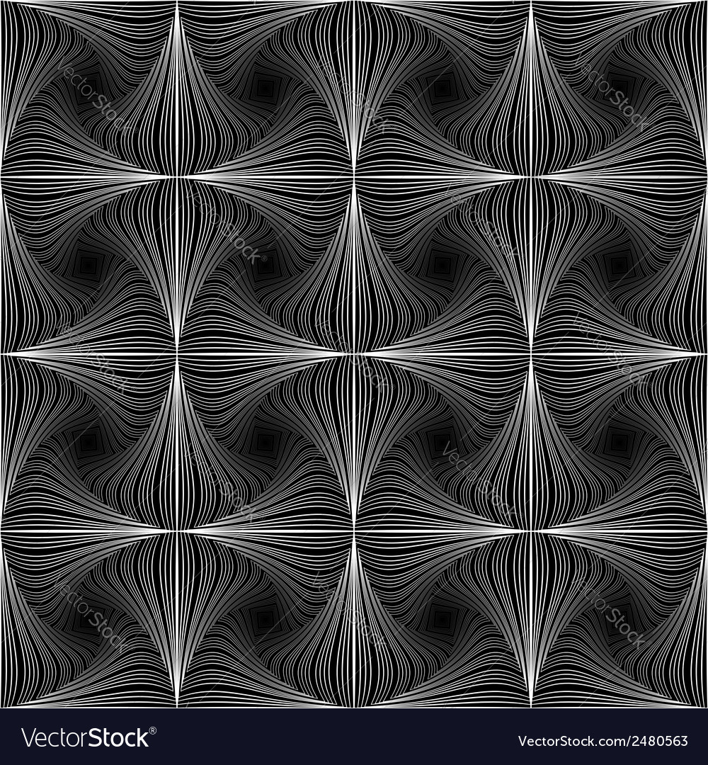 Design seamless twirl movement striped pattern vector | Price: 1 Credit (USD $1)
