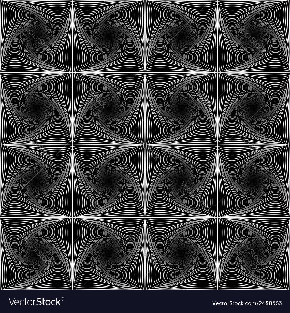 Design seamless twirl movement striped pattern vector | Price: 1 Credit (USD $1)