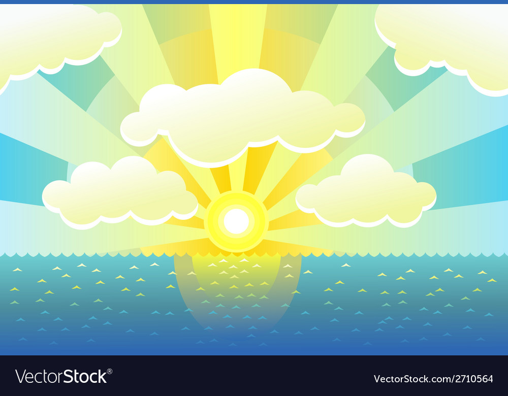 Morning background vector | Price: 1 Credit (USD $1)
