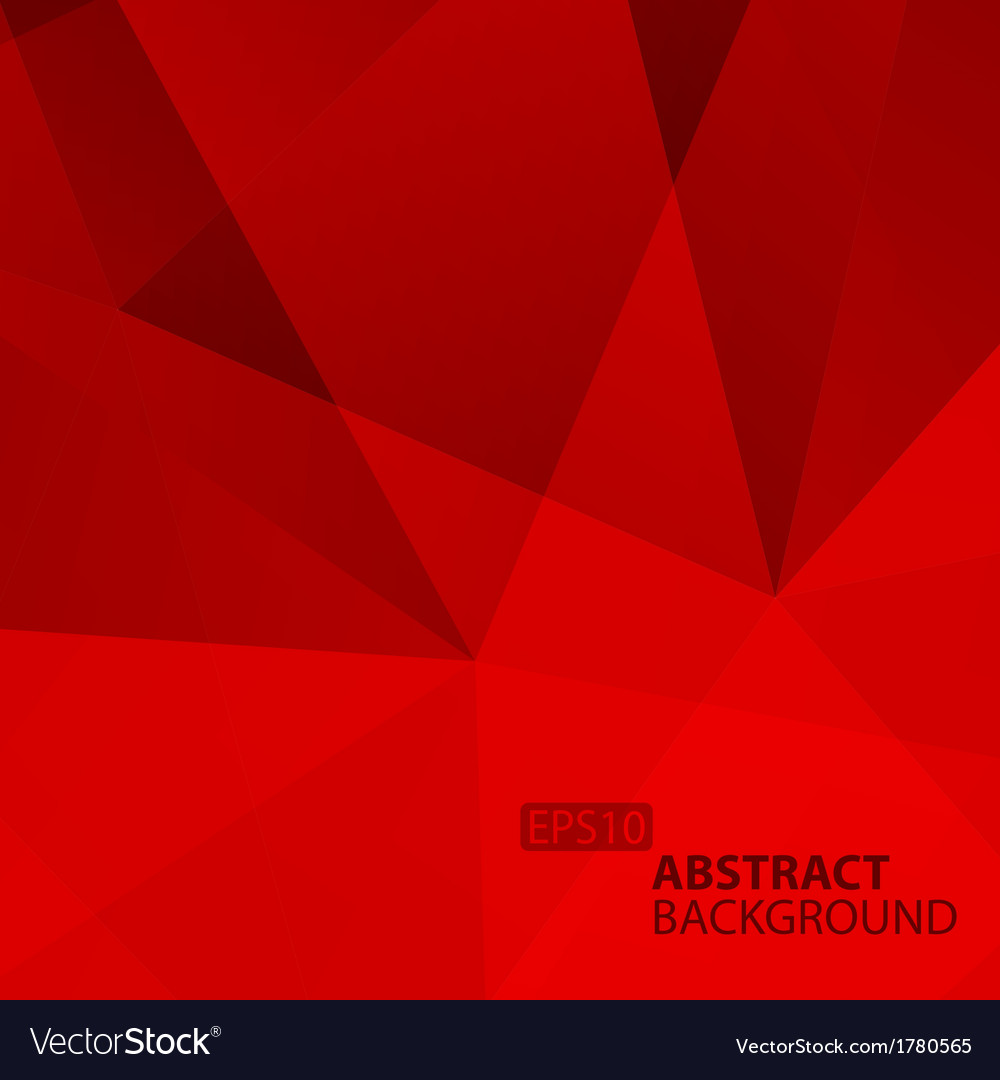 Abstract geometric red background vector | Price: 1 Credit (USD $1)