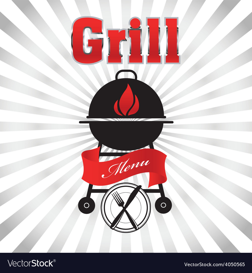 Grill 02 resize vector | Price: 1 Credit (USD $1)