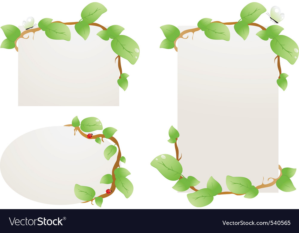 Nature document vector | Price: 1 Credit (USD $1)