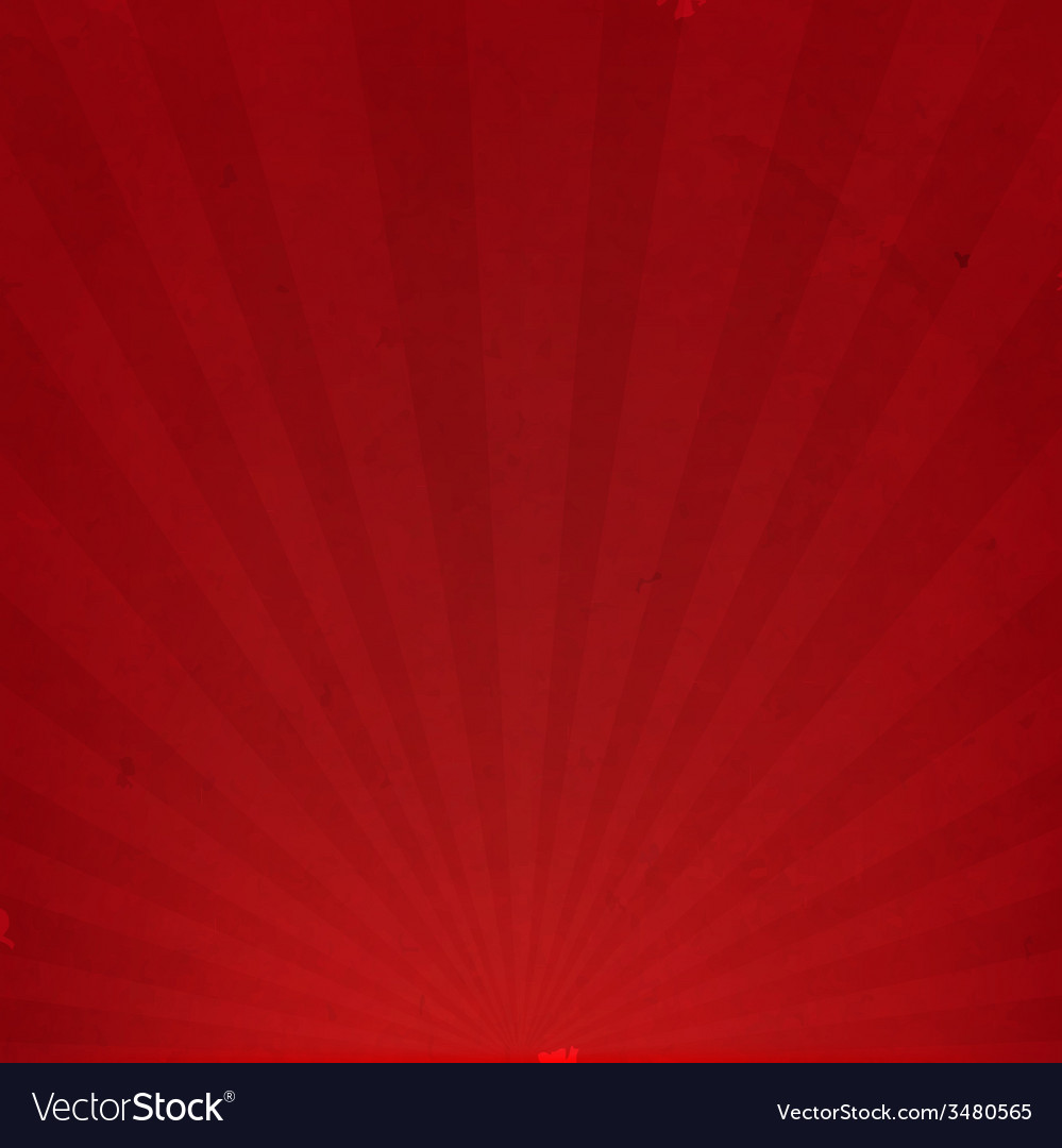 Red sunburst cardboard paper vector | Price: 1 Credit (USD $1)