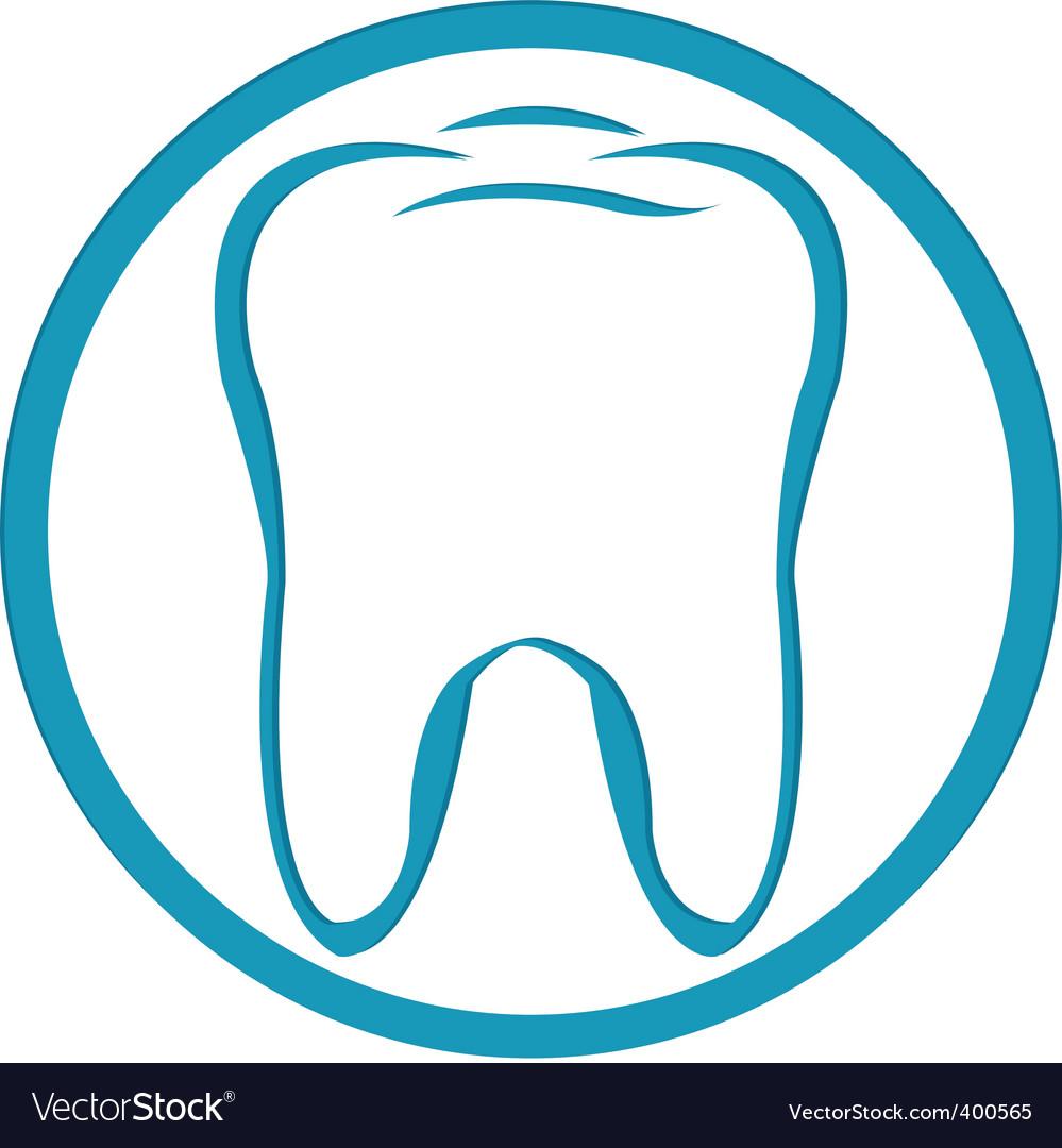 Tooth symbol vector | Price: 1 Credit (USD $1)