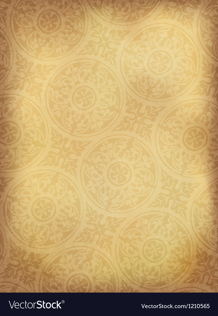 Vintage ornamented background vertical vector | Price: 1 Credit (USD $1)