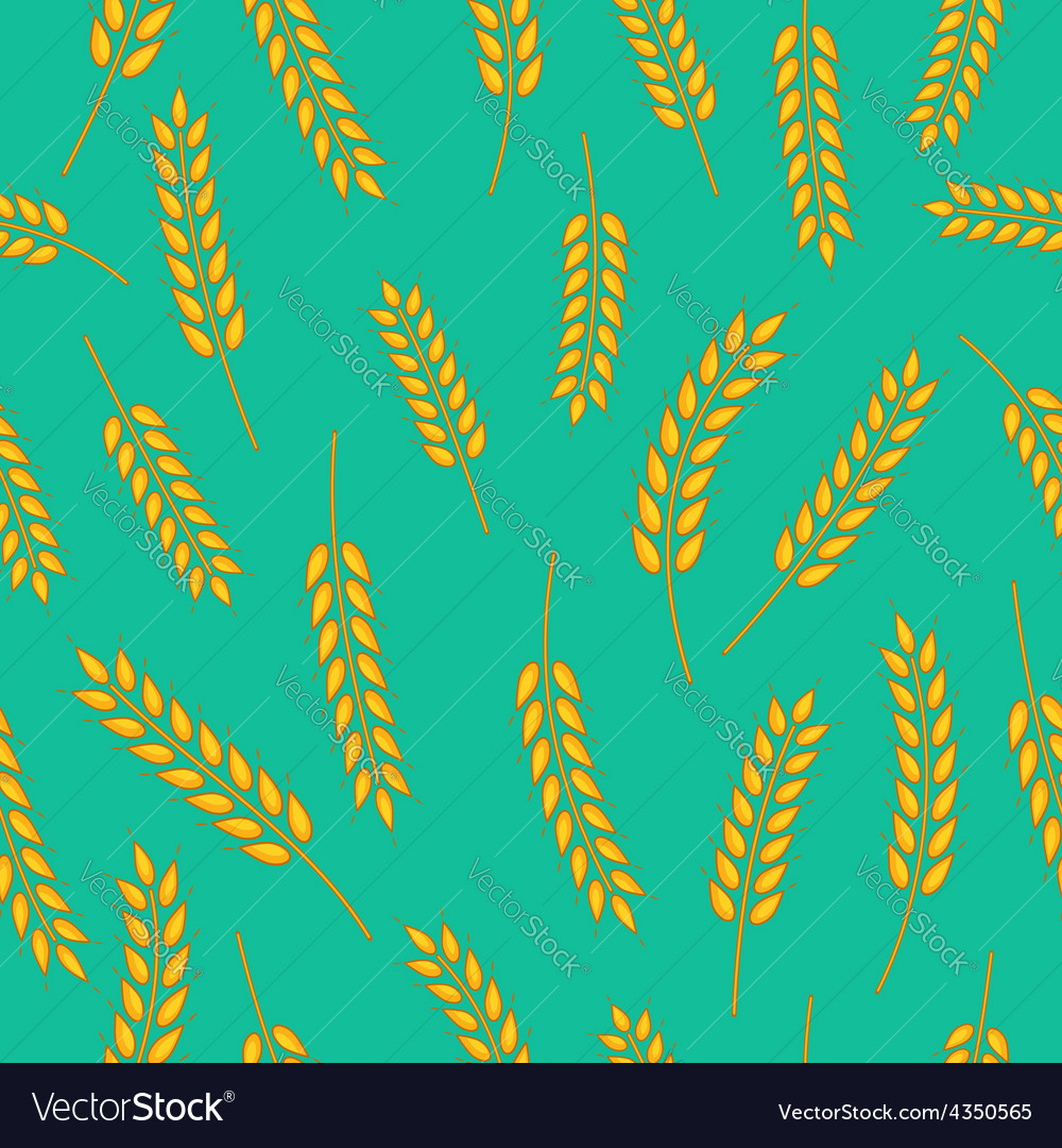 Wheat pattern vector | Price: 1 Credit (USD $1)