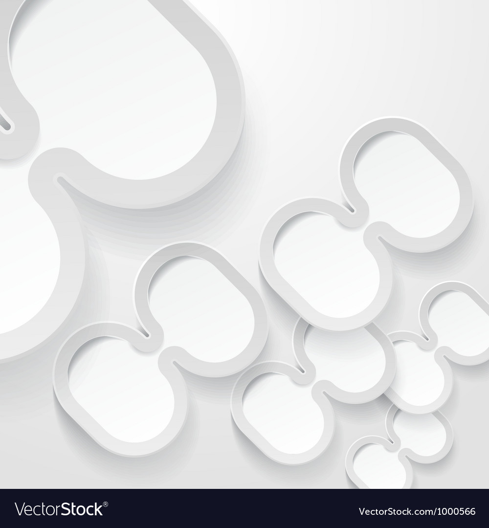 Abstract ellipse frames background vector | Price: 1 Credit (USD $1)