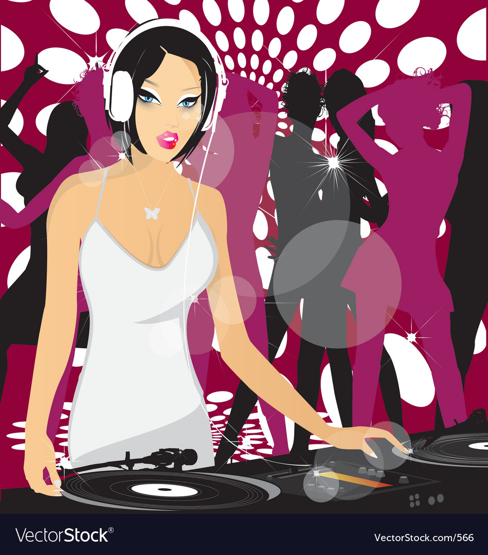 Dj princess vector | Price: 1 Credit (USD $1)