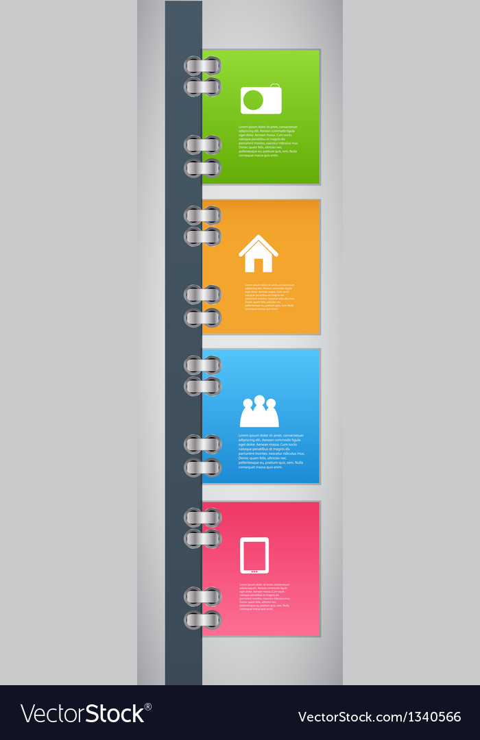 Infographic template design vector | Price: 1 Credit (USD $1)