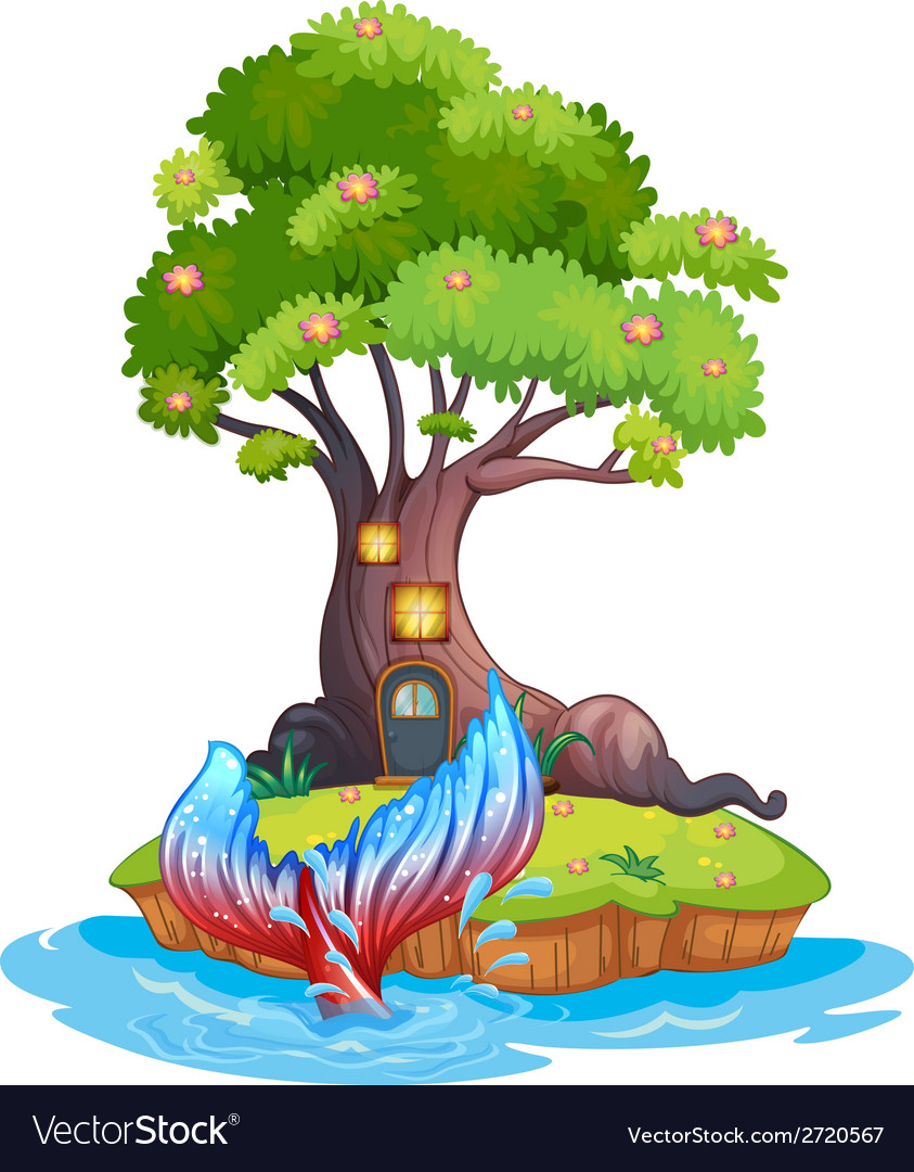 A small island vector | Price: 1 Credit (USD $1)