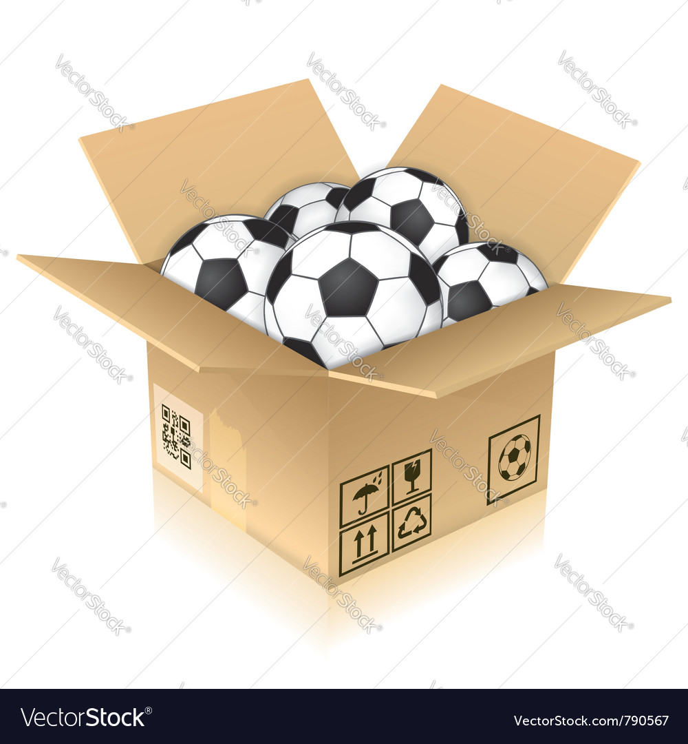 Open cardboard box vector | Price: 1 Credit (USD $1)