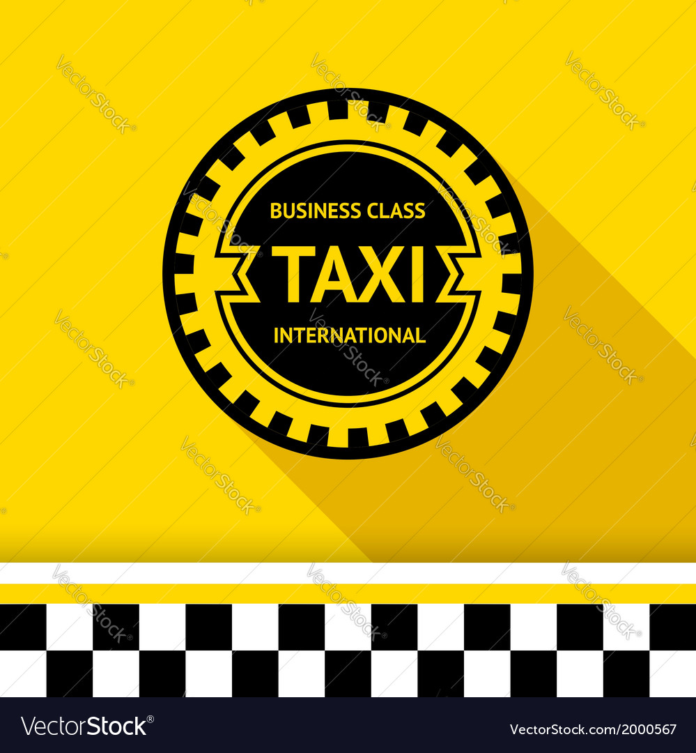 Taxi badge 16 vector | Price: 1 Credit (USD $1)