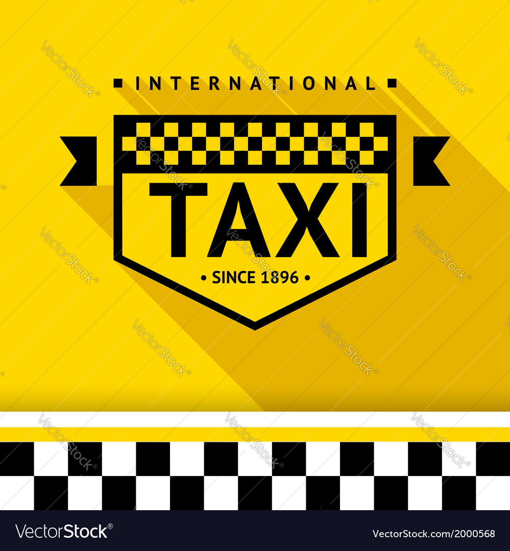 Taxi badge 17 vector | Price: 1 Credit (USD $1)