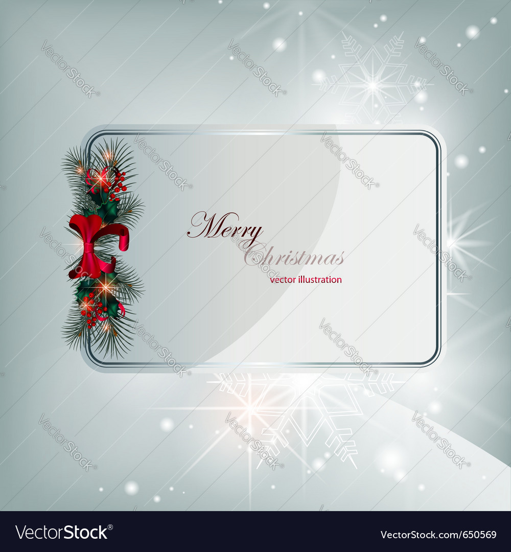 Christmas card vector   Price: 1 Credit (USD $1)
