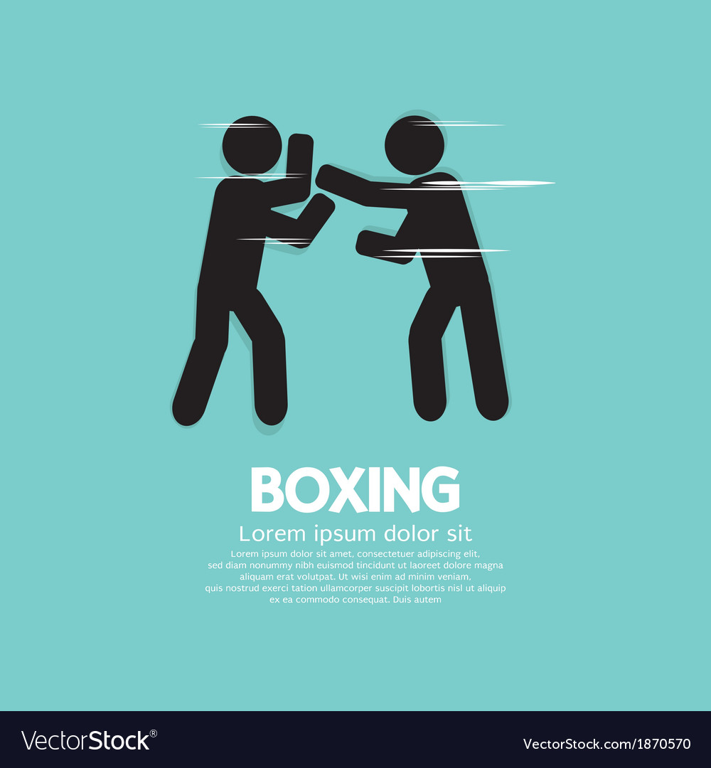 Boxing eps10 vector | Price: 1 Credit (USD $1)
