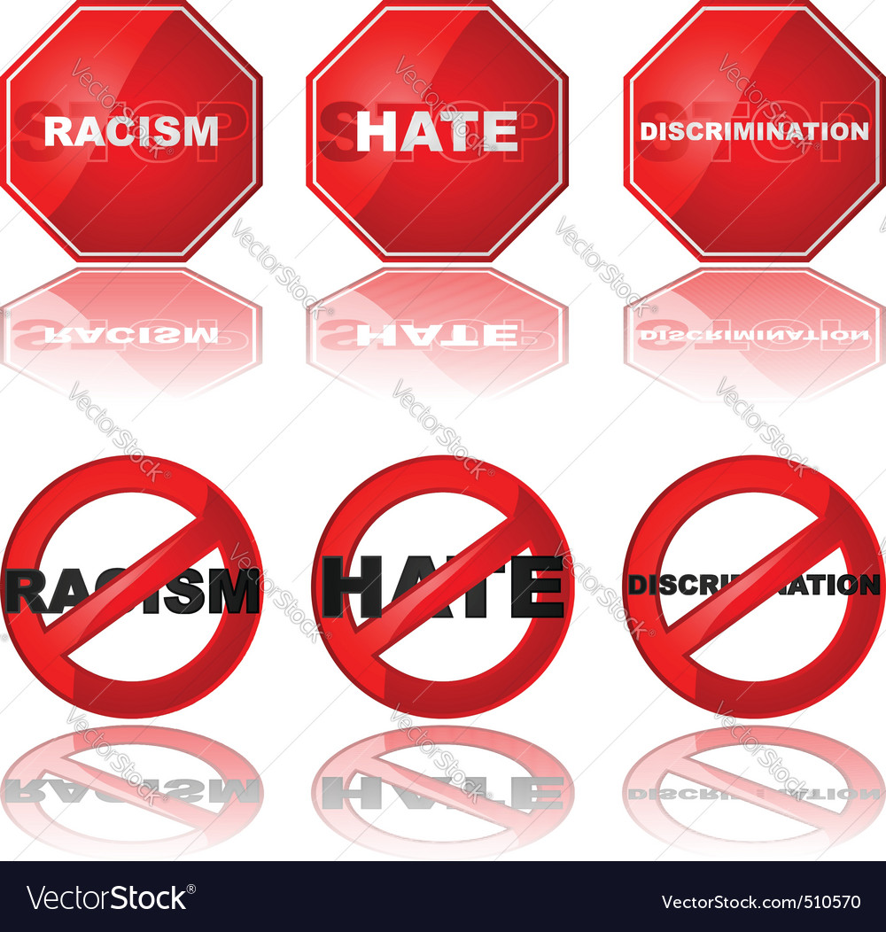 Stop discrimination vector | Price: 1 Credit (USD $1)