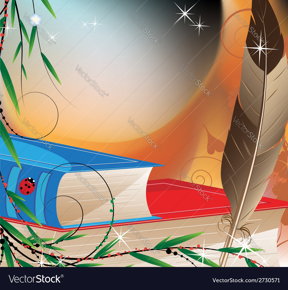 Fairytales books vector | Price: 1 Credit (USD $1)
