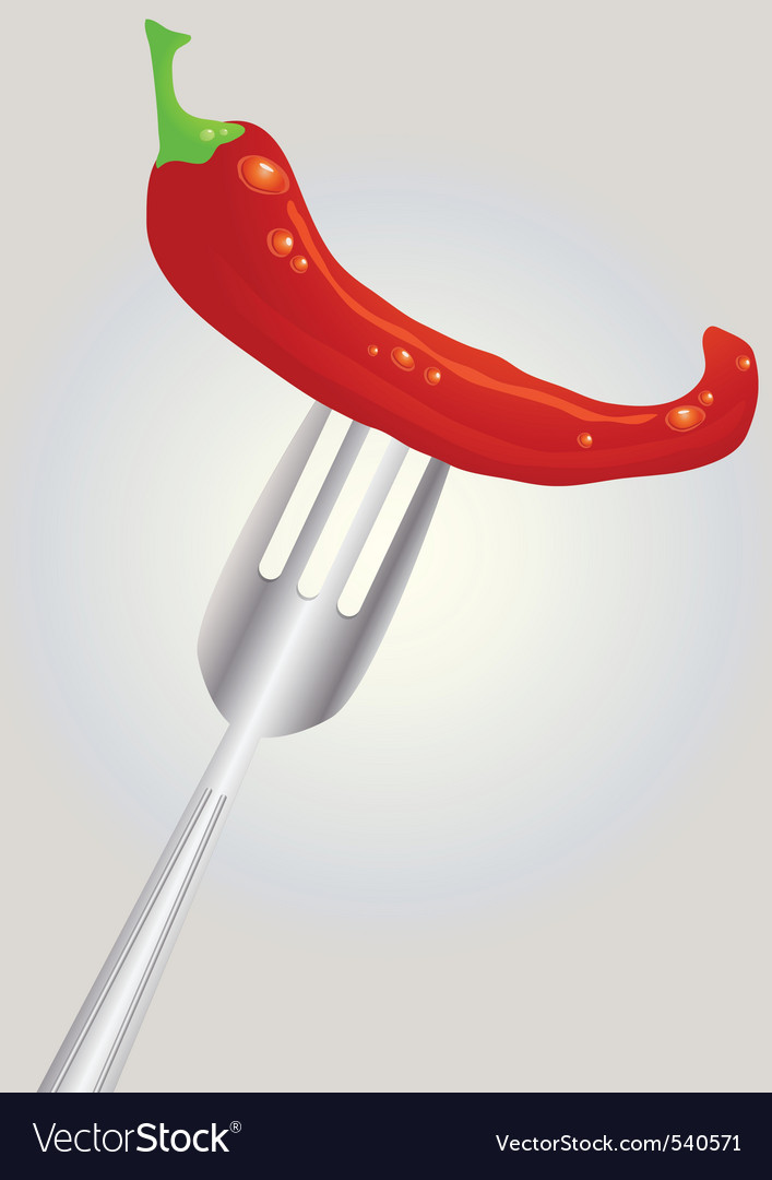 Hot chili vector | Price: 1 Credit (USD $1)