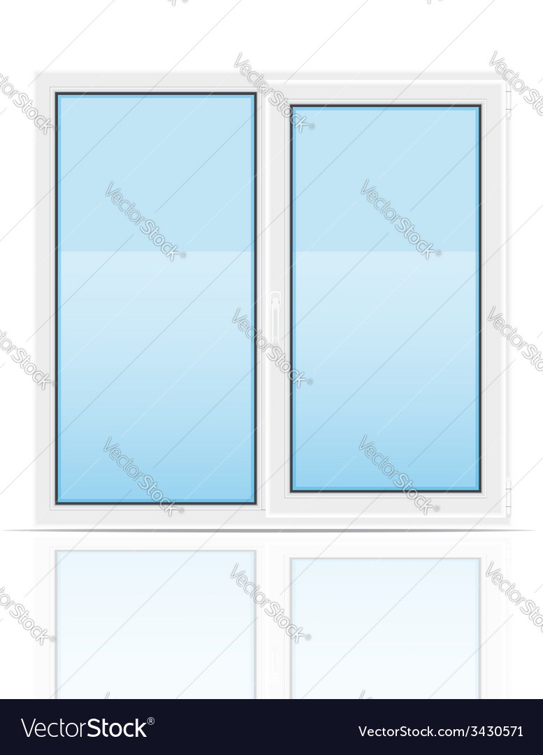 Plastic window 01 vector | Price: 1 Credit (USD $1)