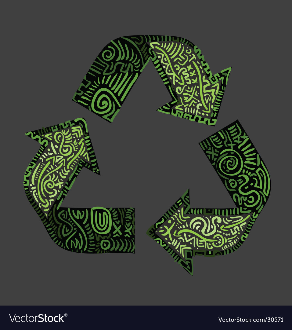 Recycle logo vector   Price: 1 Credit (USD $1)