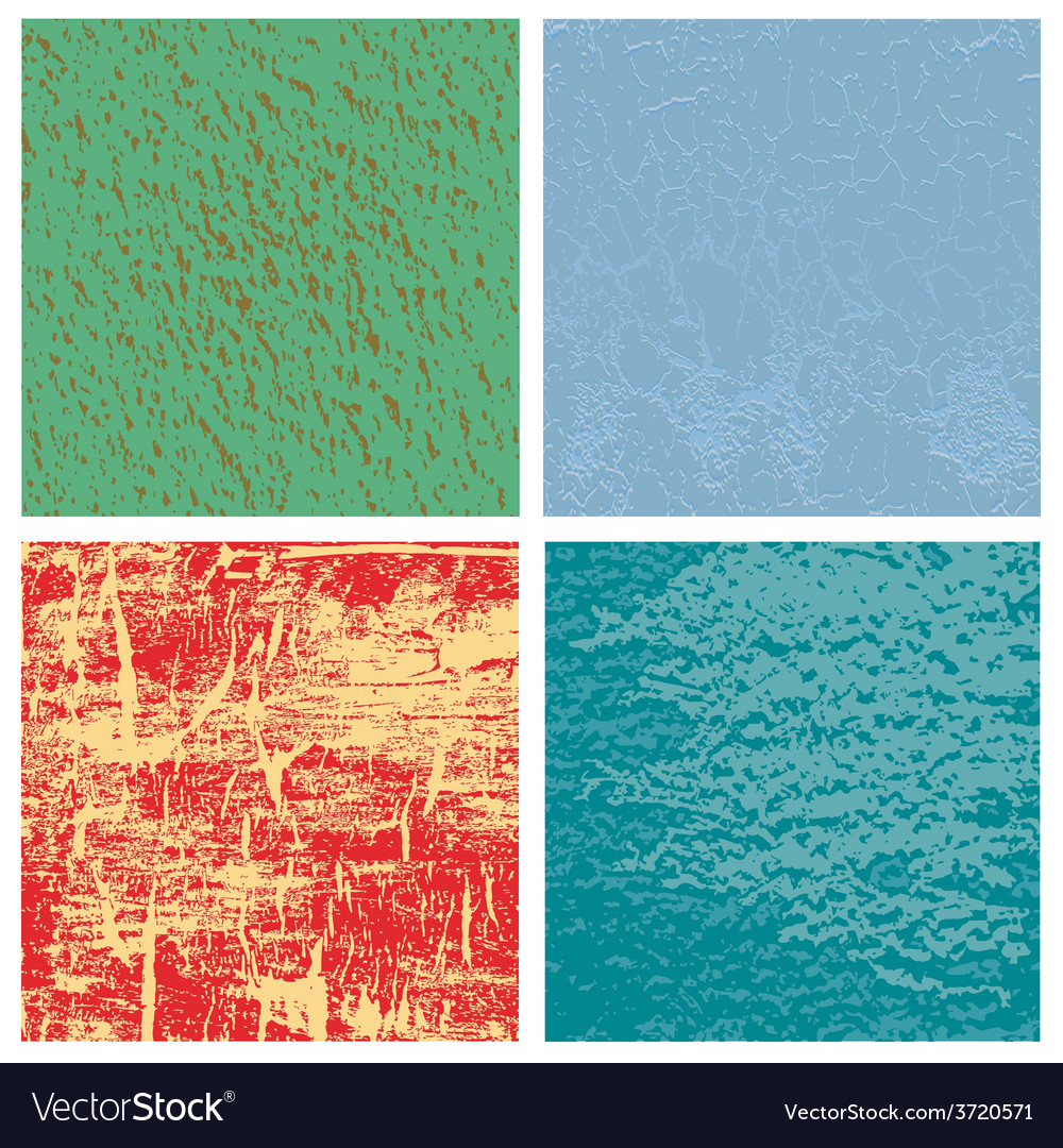 Set from four original textures vector | Price: 1 Credit (USD $1)