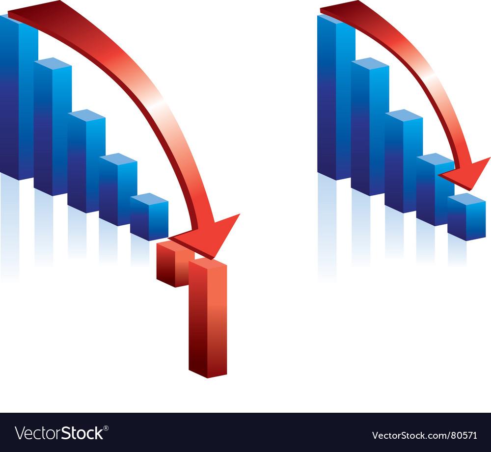 Stock falling vector   Price: 1 Credit (USD $1)