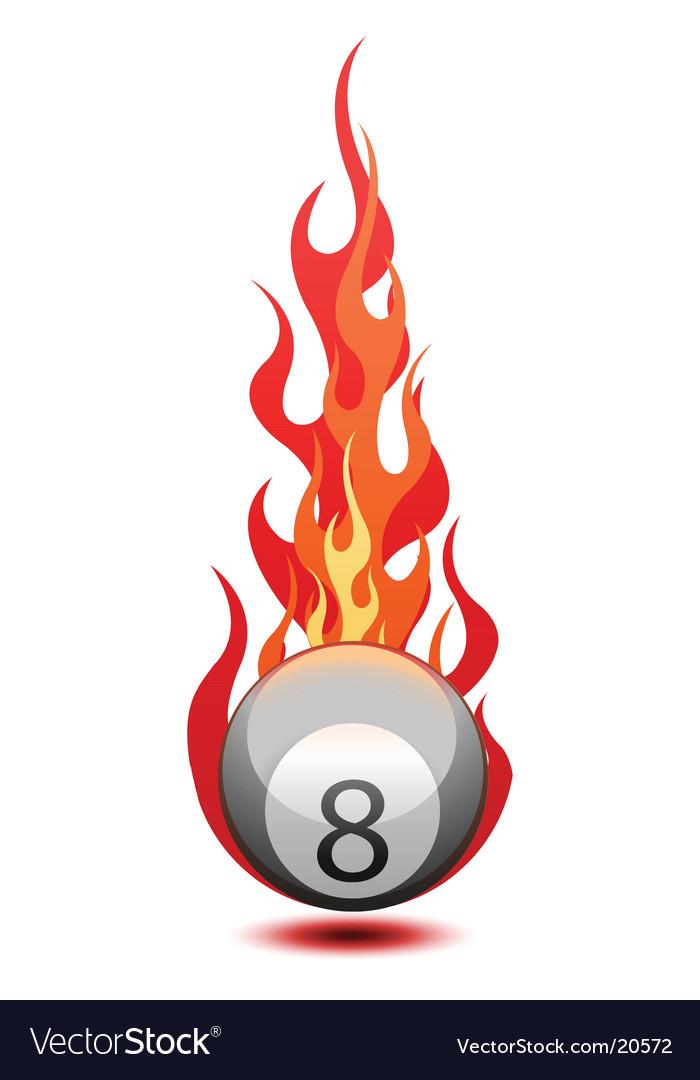Billiard ball vector | Price: 1 Credit (USD $1)