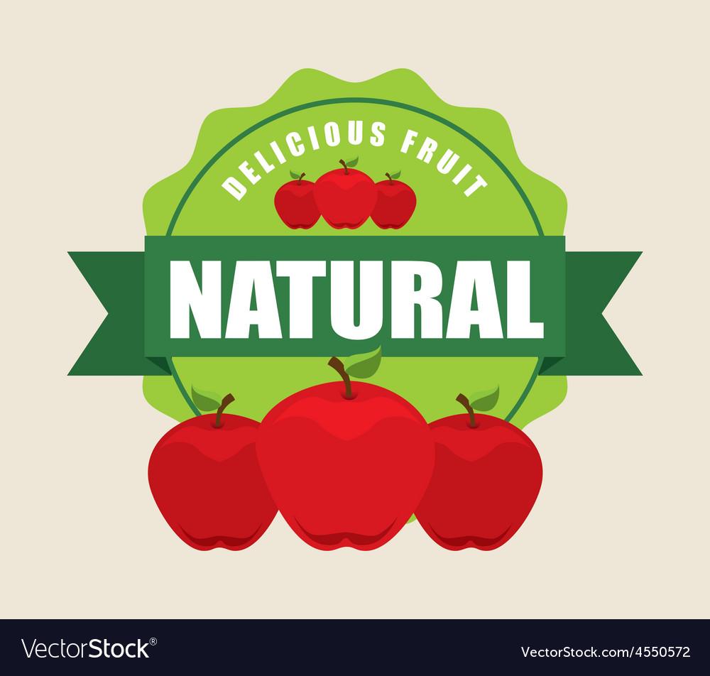 Delicious fruit vector | Price: 1 Credit (USD $1)