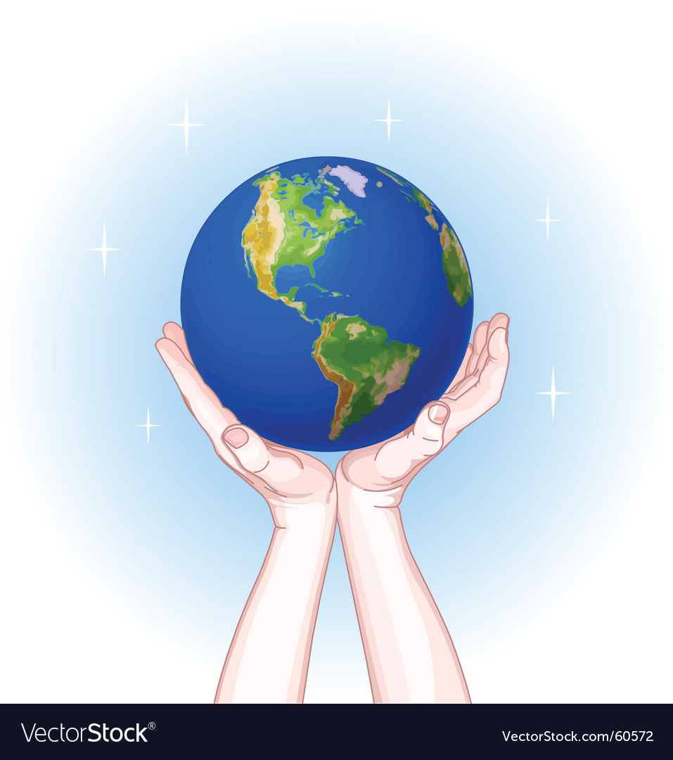 Save the planet vector | Price: 3 Credit (USD $3)
