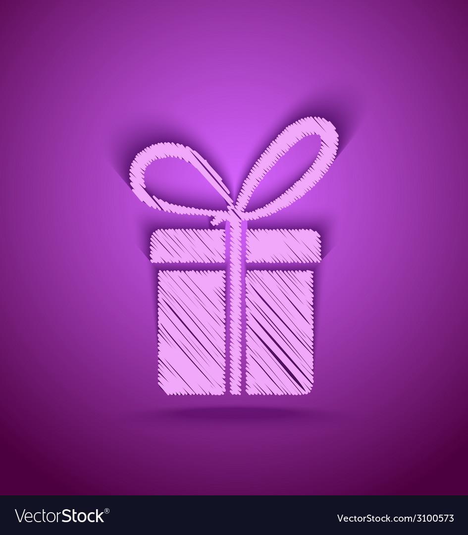 Celebration cute gift box vector   Price: 1 Credit (USD $1)