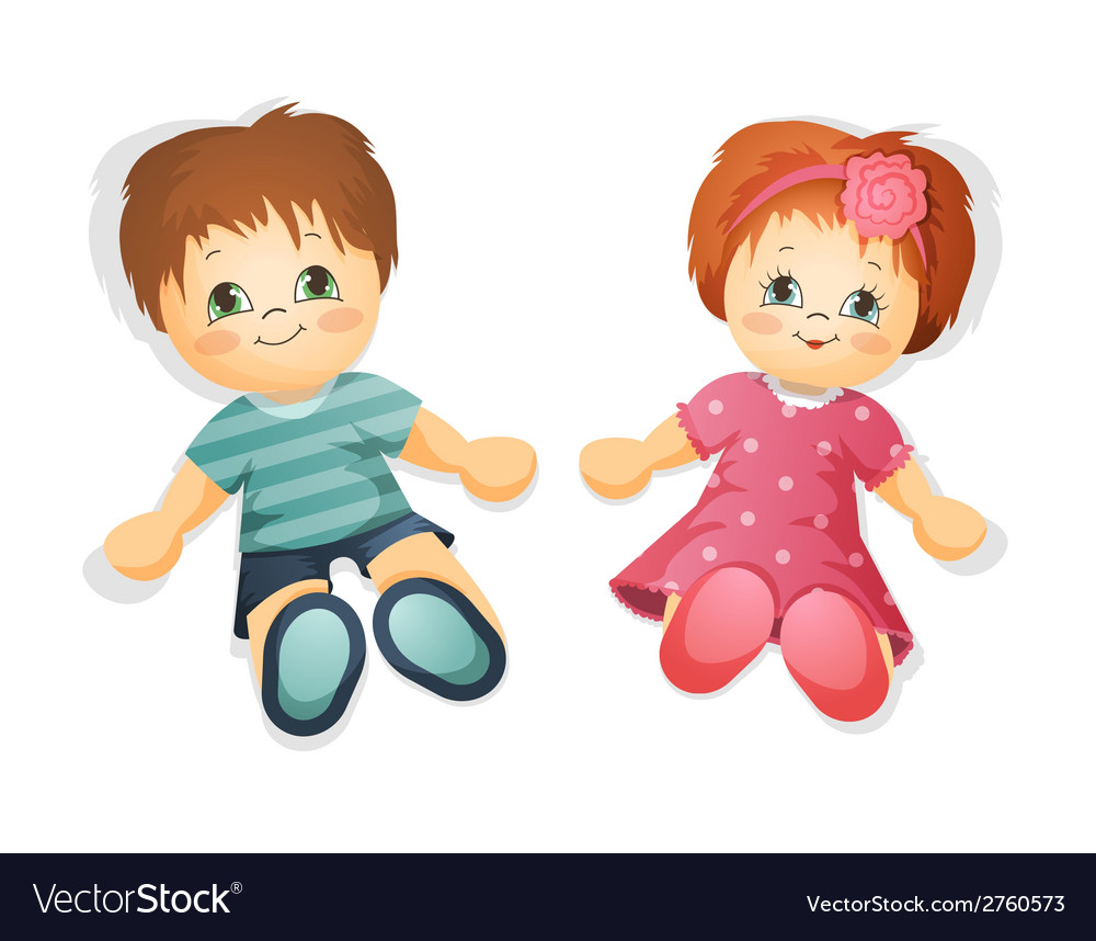 Dolls vector | Price: 1 Credit (USD $1)