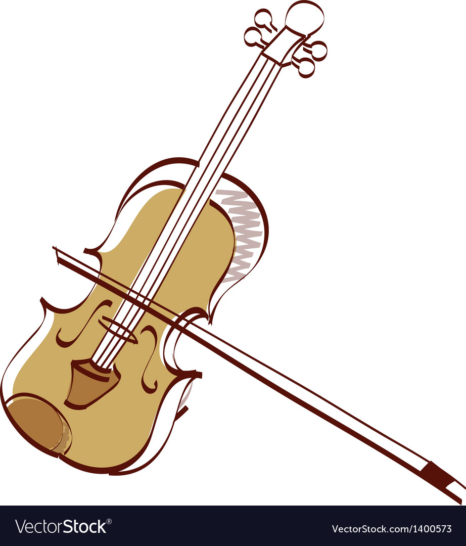 Icon violin vector | Price: 1 Credit (USD $1)