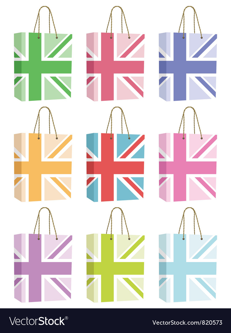 Uk bags vector | Price: 1 Credit (USD $1)