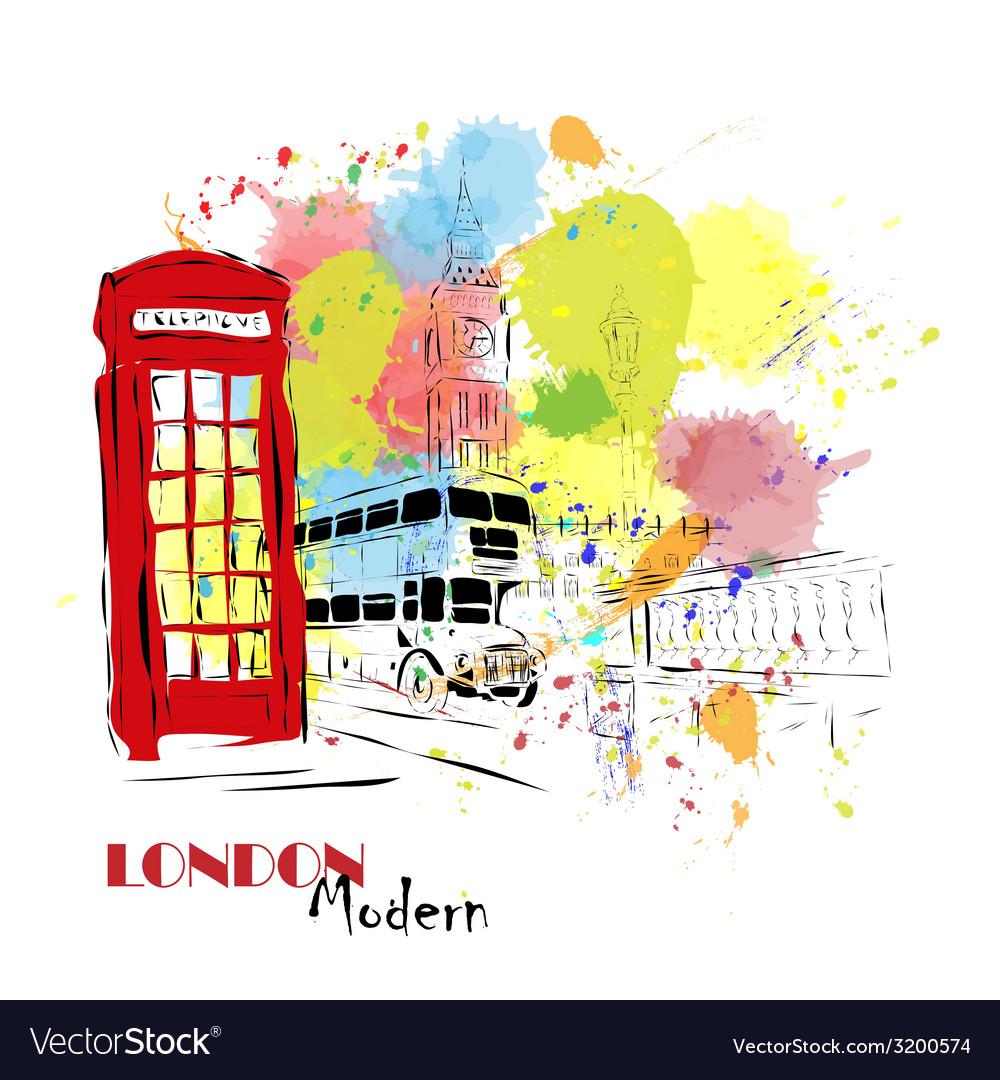 European capital london vector   Price: 1 Credit (USD $1)