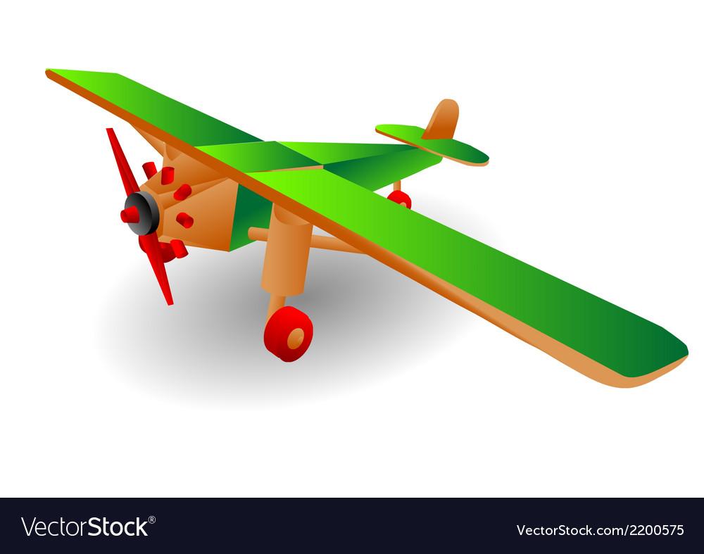 Child airplane vector | Price: 1 Credit (USD $1)