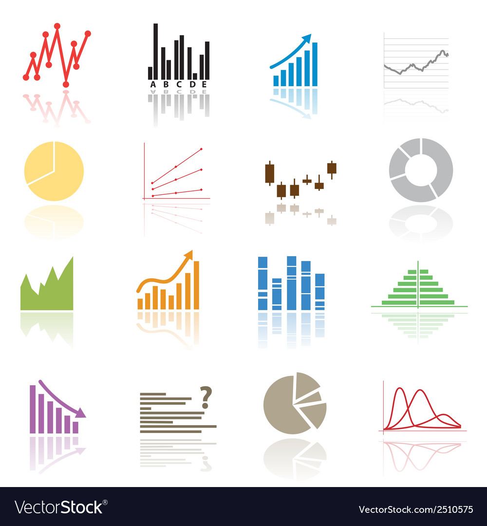 Color graphs variations eps10 vector | Price: 1 Credit (USD $1)