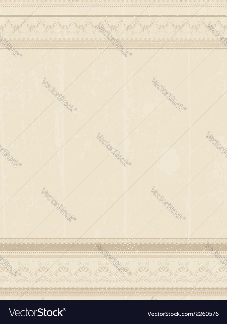 Beige grunge background vector | Price: 1 Credit (USD $1)