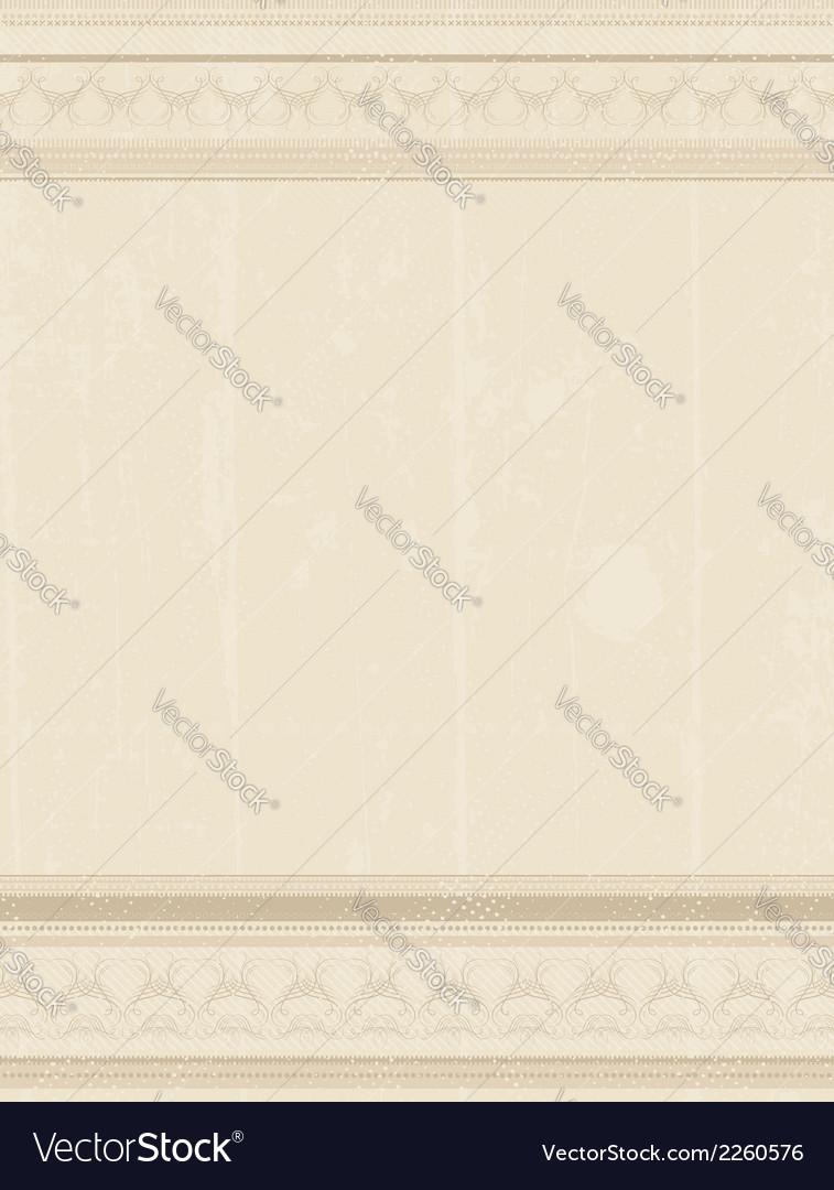 Beige grunge background vector   Price: 1 Credit (USD $1)