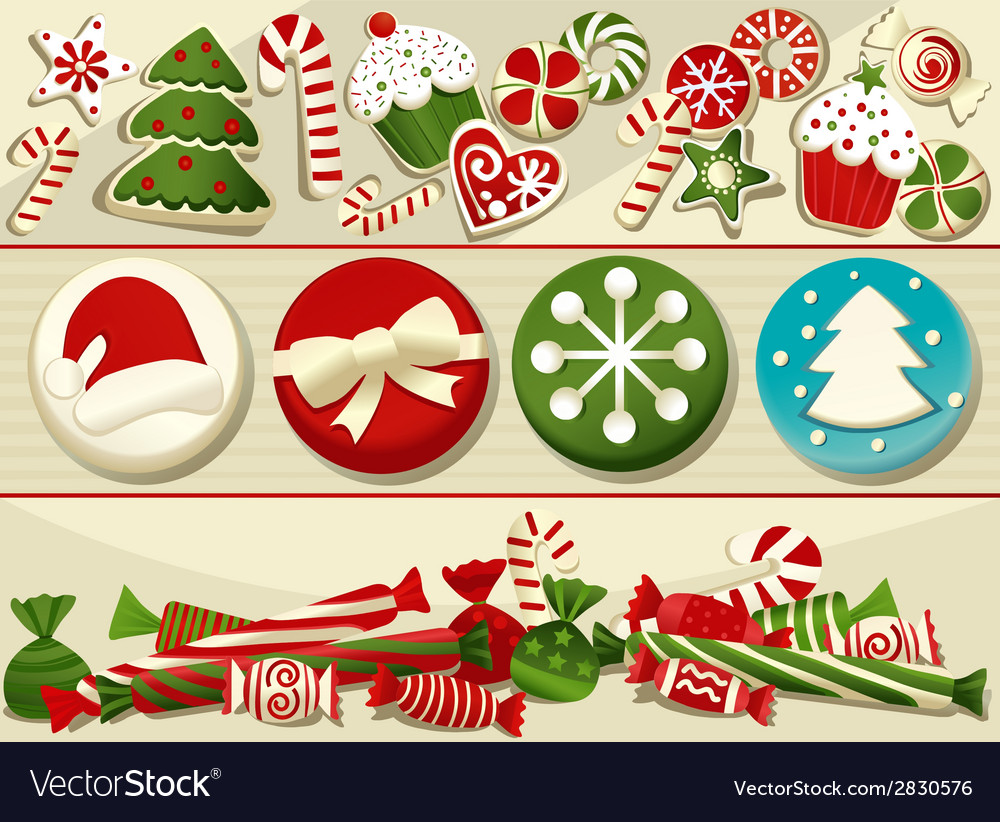 Christmas sweets vector | Price: 1 Credit (USD $1)