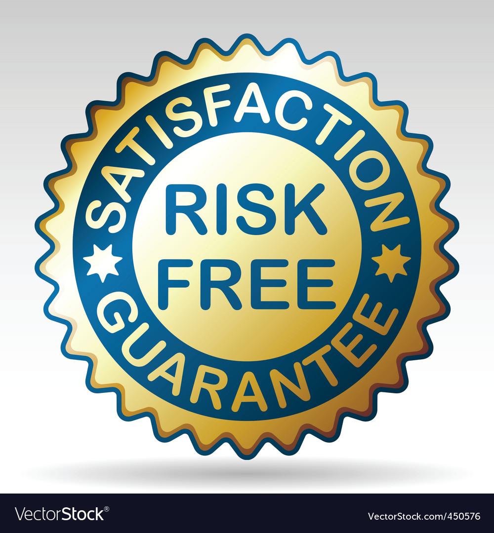 Guarantee label vector | Price: 1 Credit (USD $1)