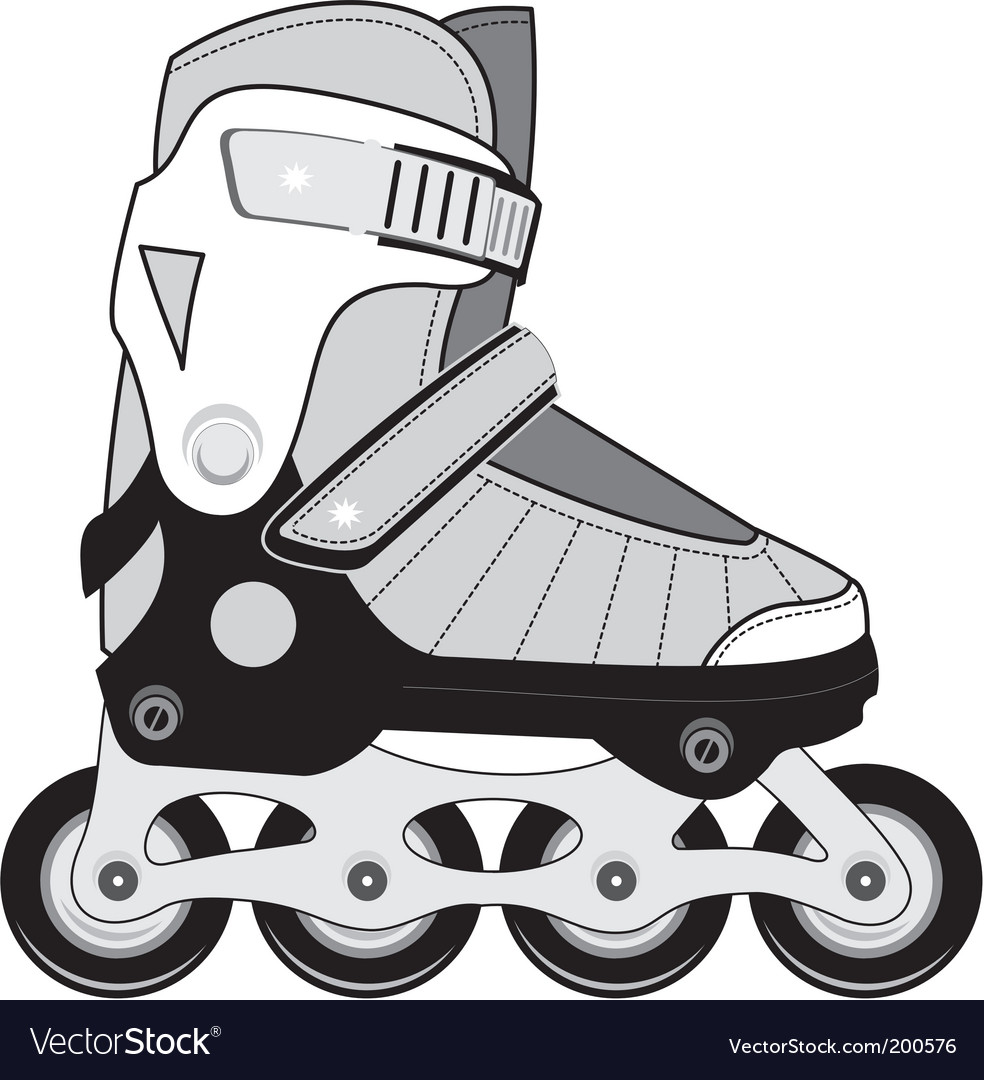 Sports roller skates vector | Price: 1 Credit (USD $1)