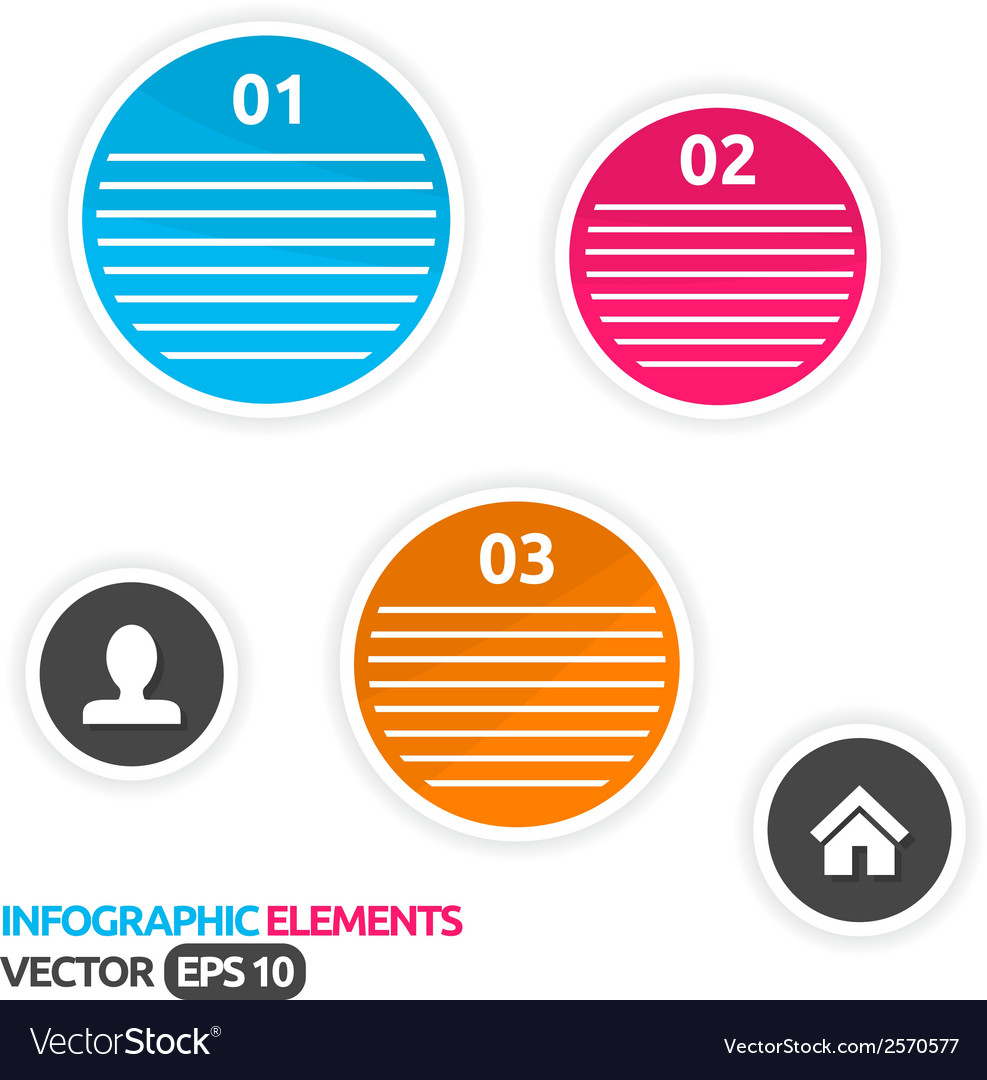 Abstract colorful design template vector | Price: 1 Credit (USD $1)