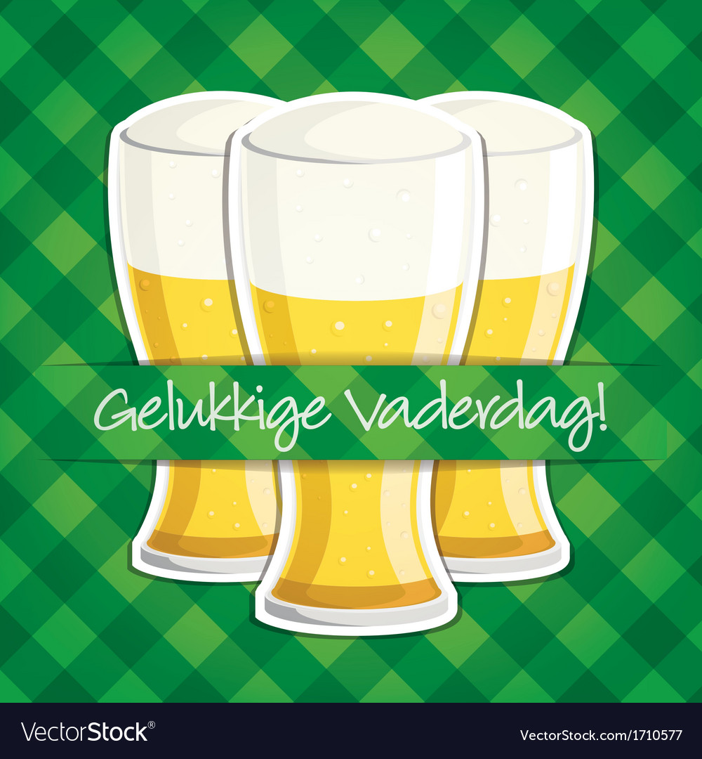 Arabic happy fathers day beer card in format vector   Price: 1 Credit (USD $1)