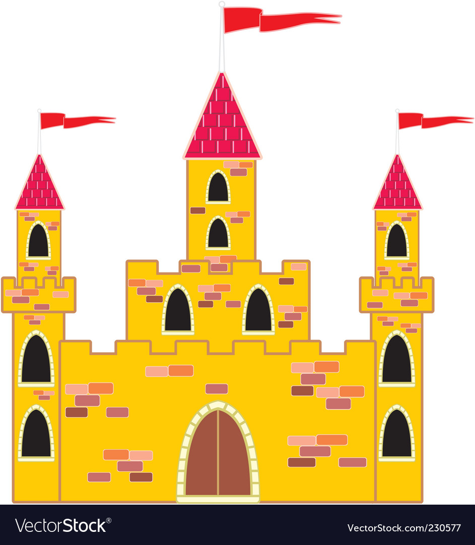 Castle vector | Price: 1 Credit (USD $1)