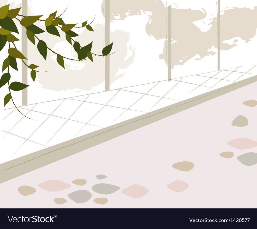Park stone path vector | Price: 1 Credit (USD $1)