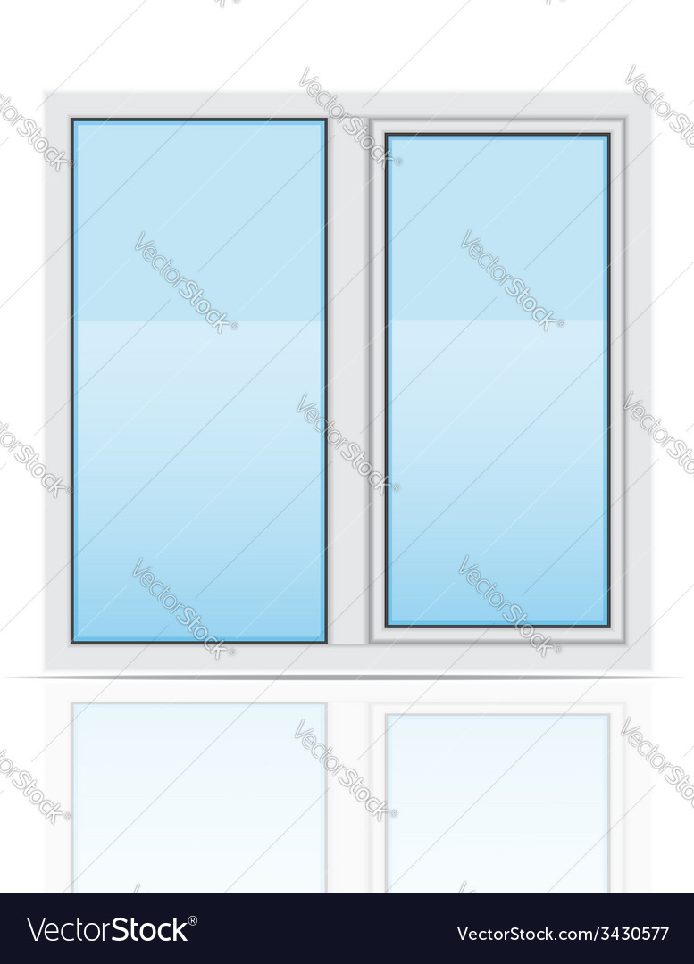 Plastic window 03 vector