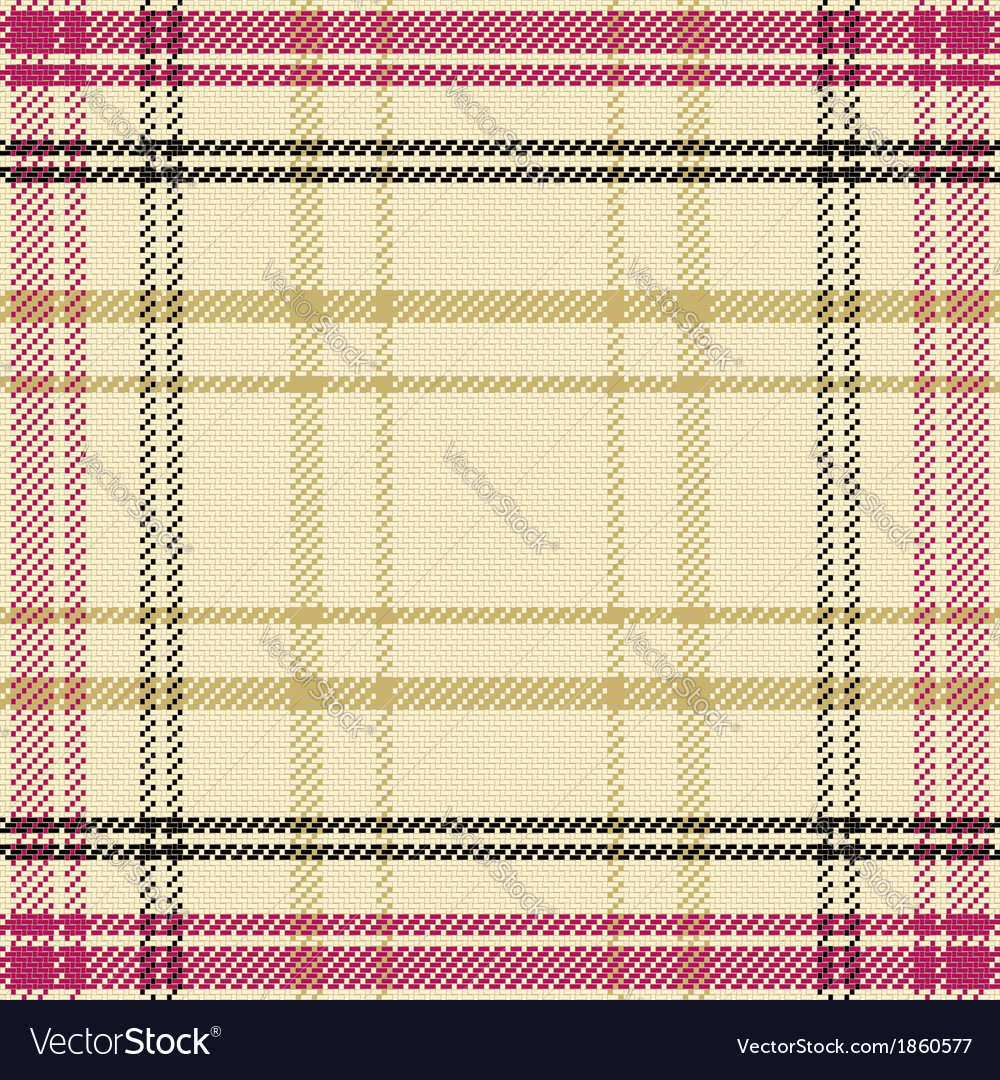 Seamless pattern scottish tartan virginia vector | Price: 1 Credit (USD $1)