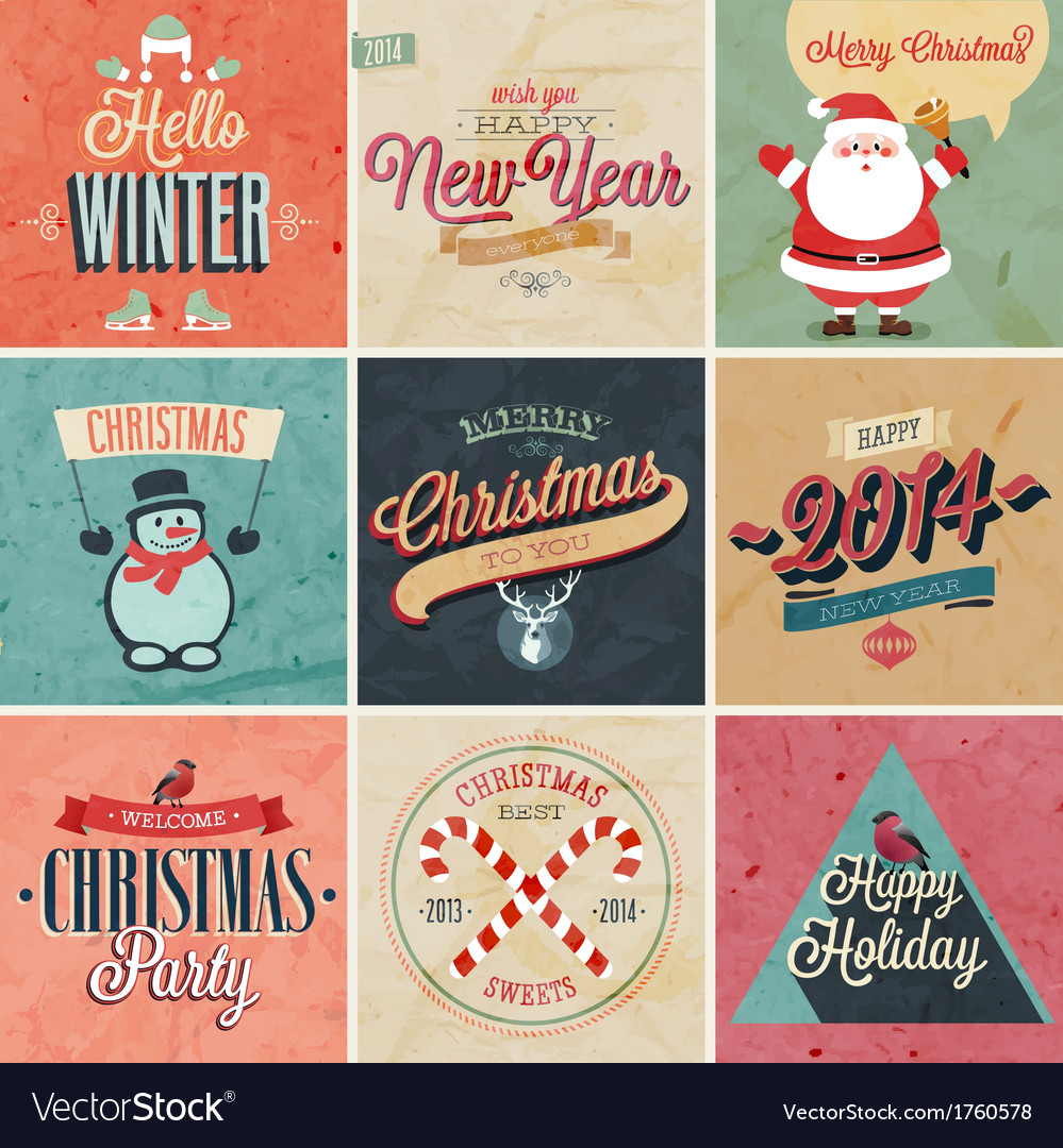 Christmas set2 vector | Price: 1 Credit (USD $1)