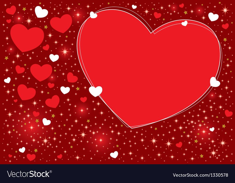 Hearts background design vector   Price: 1 Credit (USD $1)